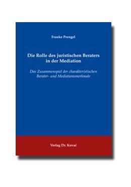 Abbildung von Prengel | Die Rolle des juristischen Beraters in der Mediation | 2009 | Das Zusammenspiel der charakte... | 10