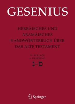 Abbildung von Gesenius / Donner | Hebräisches und Aramäisches Handwörterbuch über das Alte Testament | 18. Aufl. | 2007 | 4. Lieferung Nun - Pe