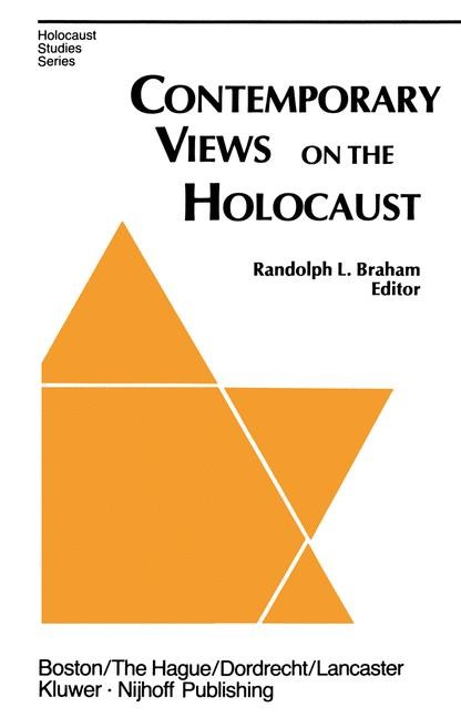 Contemporary Views on the Holocaust | Braham, 1983 | Buch (Cover)