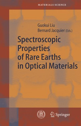 Abbildung von Liu / Jacquier | Spectroscopic Properties of Rare Earths in Optical Materials | 1st ed. Softcover of orig. ed. 2005 | 2010 | 83