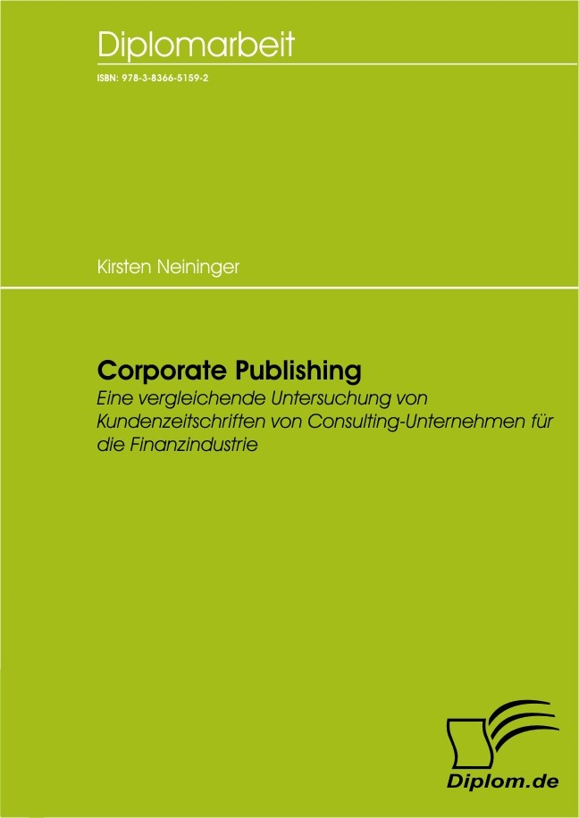 Corporate Publishing | Neininger, 2007 | Buch (Cover)