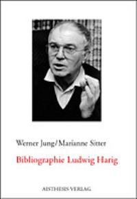 Bibliographie Ludwig Harig   Jung / Sitter, 2002   Buch (Cover)