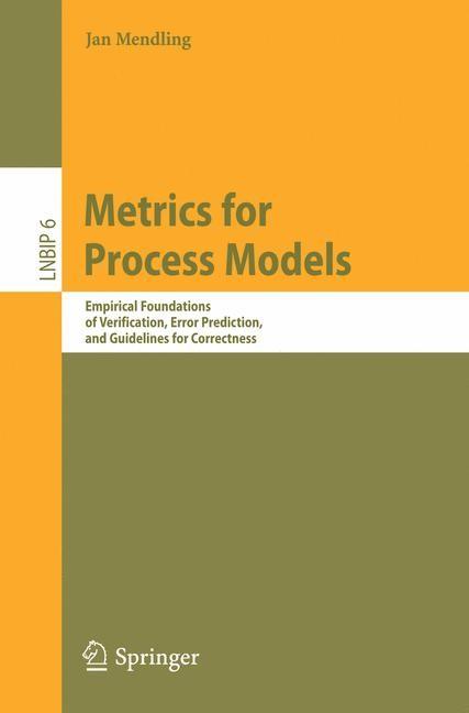 Abbildung von Mendling | Metrics for Process Models | 2008