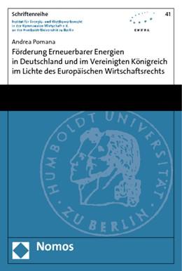 Abbildung von Pomana | Förderung Erneuerbarer Energien in Deutschland und im Vereinigten Königreich im Lichte des Europäischen Wirtschaftsrechts | 2010 | 41