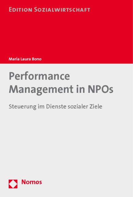 Performance Management in NPOs | Bono, 2010 | Buch (Cover)