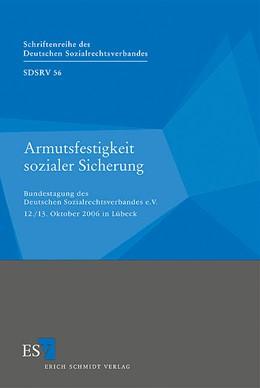 Abbildung von Armutsfestigkeit sozialer Sicherung   2007   Bundestagung des Deutschen Soz...   56