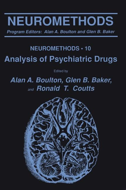 Analysis of Psychiatric Drugs | Boulton / Baker / Coutts, 1988 | Buch (Cover)