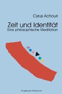 Zeit und Identität | Achouri, 2004 | Buch (Cover)