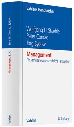 Abbildung von Staehle | Management | 8. Auflage | 1999 | beck-shop.de