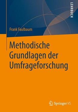 Abbildung von Faulbaum | Methodische Grundlagen der Umfrageforschung | 2019