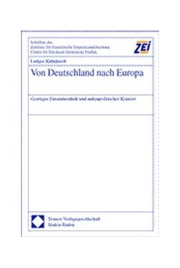 Abbildung von Kühnhardt | Von Deutschland nach Europa | 2000 | Geistiger Zusammenhalt und auß... | 25