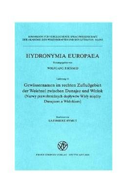 Abbildung von Gewässernamen im rechten Zuflußgebiet der Weichsel zwischen Dunajec und Wislok | 2000 | Nazwy prawobrzeznych doplywow ... | 15