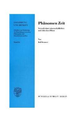 Abbildung von Kramer | Phänomen Zeit. | 2000 | Versuch einer wissenschaftlich... | 84