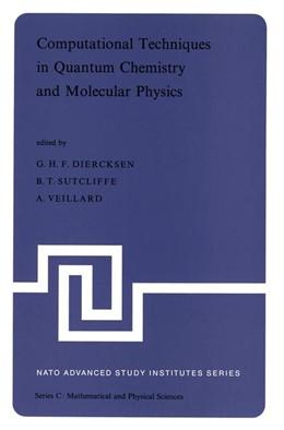 Abbildung von Diercksen / Sutcliffe / Veillard | Computational Techniques in Quantum Chemistry and Molecular Physics | 1975 | Proceedings of the NATO Advanc... | 15