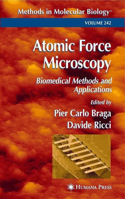 Atomic Force Microscopy   Braga / Ricci, 2003   Buch (Cover)