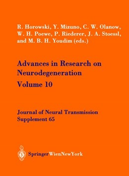 Abbildung von Horowski / Mizuno / Olanow / Poewe / Riederer / Stoessel / Youdim | Advances in Research on Neurodegeneration | 2003 | Volume 10 | 65