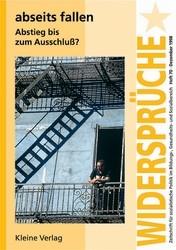 abseits fallen - Abstieg bis zum Ausschluss?, 1999 | Buch (Cover)