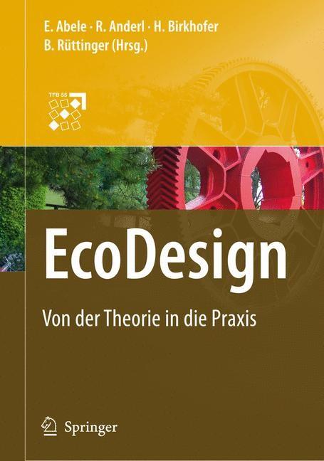 EcoDesign | Abele / Anderl / Birkhofer / Rüttinger, 2007 | Buch (Cover)
