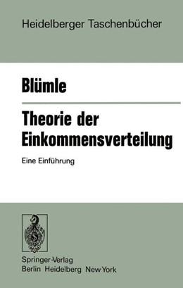 Abbildung von Blümle | Theorie der Einkommensverteilung | 1975 | Eine Einführung | 173