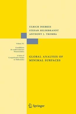 Abbildung von Dierkes / Hildebrandt / Tromba | Global Analysis of Minimal Surfaces | 2nd ed. 1992 | 2010 | 341