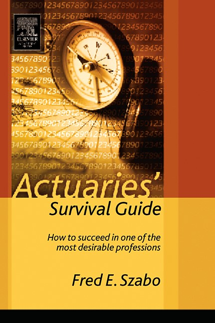 Abbildung von Szabo   Actuaries' Survival Guide   2004