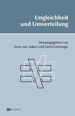 Abbildung von Aaken / Grözinger   Ungleichheit und Umverteilung   2004