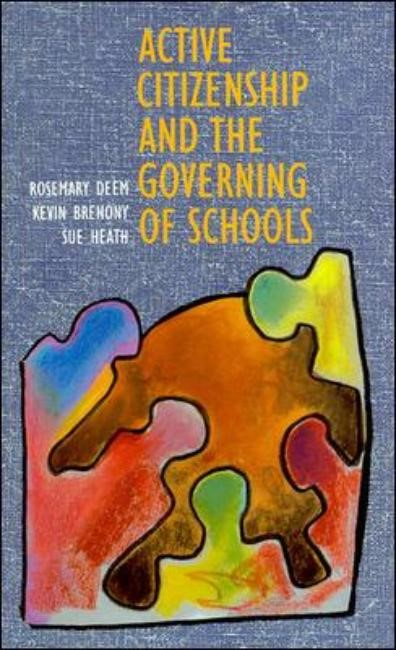 Active Citizenship and the Governing of Schoolsaa, 1995 | Buch (Cover)
