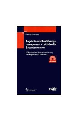 Abbildung von Girmscheid | Angebots- und Ausführungsmanagement | 2004 | Erfolgsorientierte Unternehmen...