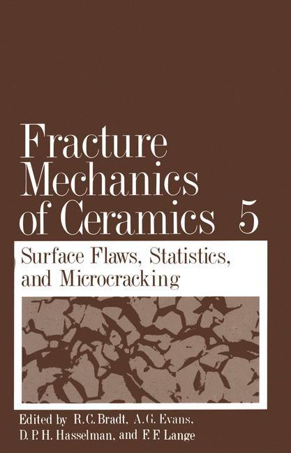 Fracture Mechanics of Ceramics | Bradt / Evans / Hasselman, 1983 | Buch (Cover)