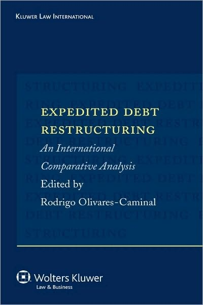 Expedited Debt Restructuring | Olivares-Caminal | Neuausgabe, 2007 | Buch (Cover)