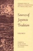 Abbildung von Bary / Gluck / Tiedemann | Sources of Japanese Tradition | 1964