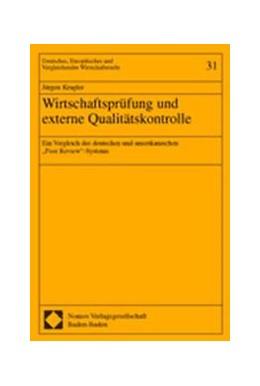 Abbildung von Kragler | Wirtschaftsprüfung und externe Qualitätskontrolle | 2003 | Ein Vergleich des deutschen un... | 31