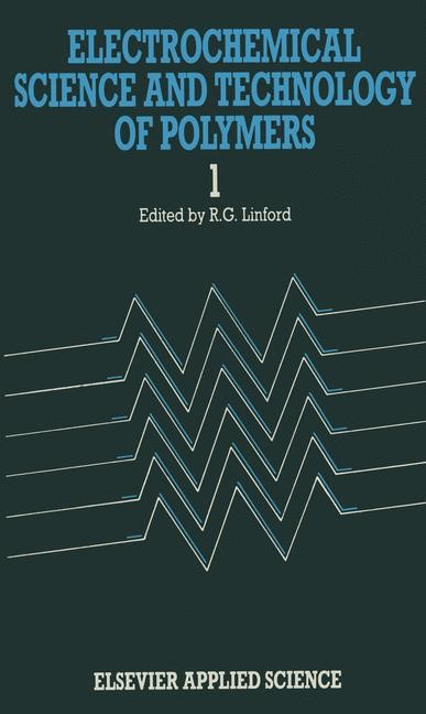Abbildung von Linford | Electrochemical Science and Technology of Polymers—1 | 1987