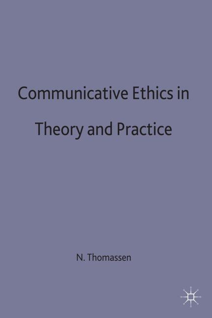 Abbildung von Thomassen / Irons | Communicative Ethics in Theory and Practice | 1992 | 1992