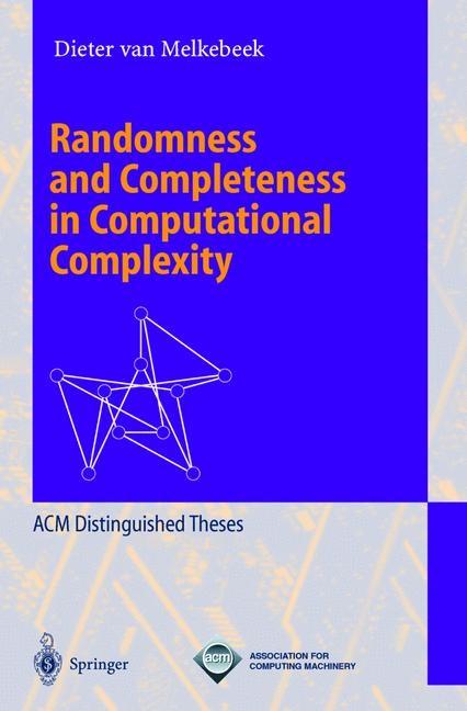 Abbildung von Melkebeek   Randomness and Completeness in Computational Complexity   2000