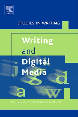 Abbildung von van Waes / Leijten / Neuwirth | Writing and Digital Media | 2006 | 17