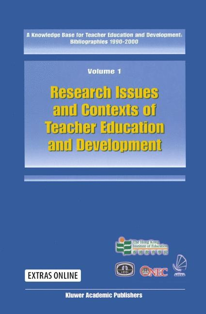 A Knowledge Base for Teacher Education and Development: Bibliographies 1990-2000, 2002 | Buch (Cover)