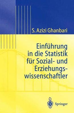 Abbildung von Ghanbari   Einführung in Die Statistik für Sozial- Und Erziehungs-wissenschaftler   2002   Einführung in die Statistik fü...