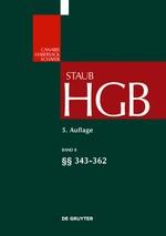 Handelsgesetzbuch: HGB, Band 8: §§ 343-372 | Staub | 5. völlig neu bearbeitete Auflage, 2018 | Buch (Cover)