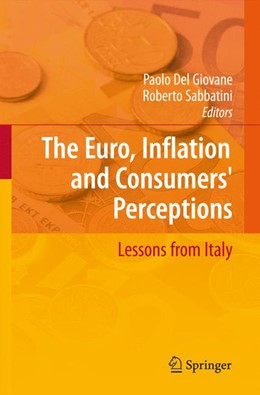 Abbildung von Giovane / Sabbatini | The Euro, Inflation and Consumers' Perceptions | 2008 | Lessons from Italy