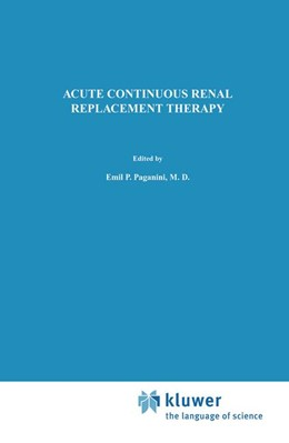 Abbildung von Paganini | Acute Continuous Renal Replacement Therapy | 1986