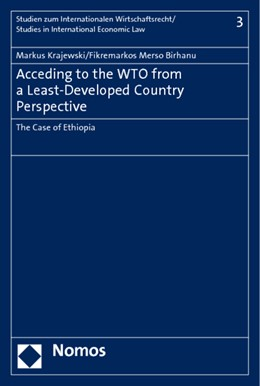 Abbildung von Krajewski / Merso Birhanu | Acceding to the WTO from a Least-Developed Country Perspective | 2011 | The Case of Ethiopia