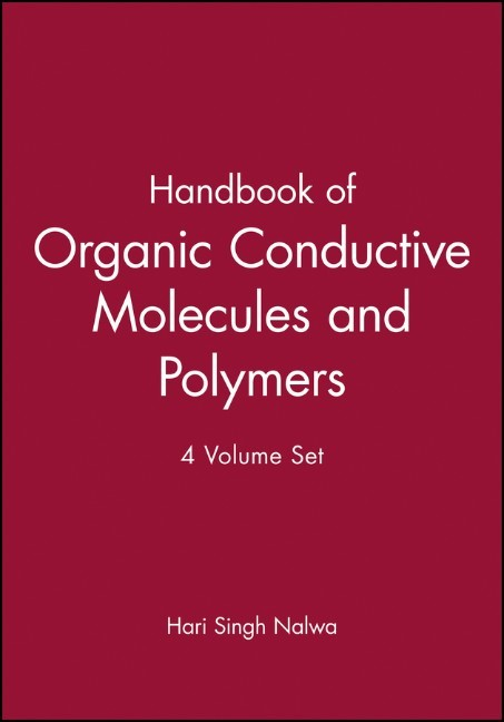 Abbildung von Nalwa | Handbook of Organic Conductive Molecules and Polymers | 1997