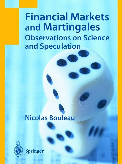 Financial Markets and Martingales | Bouleau | 1st Edition., 2004 | Buch (Cover)