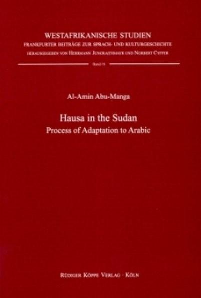Hausa in the Sudan | Abu-Manga | 1. Auflage 1999 (Cover)
