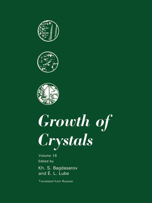 Abbildung von Bagdasarov / Lube   Growth of Crystals   1991