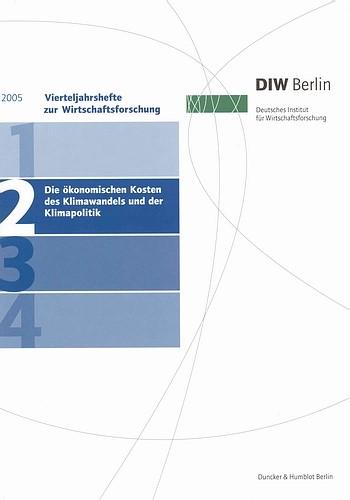 Die ökonomischen Kosten des Klimawandels und der Klimapolitik., 2005 | Buch (Cover)