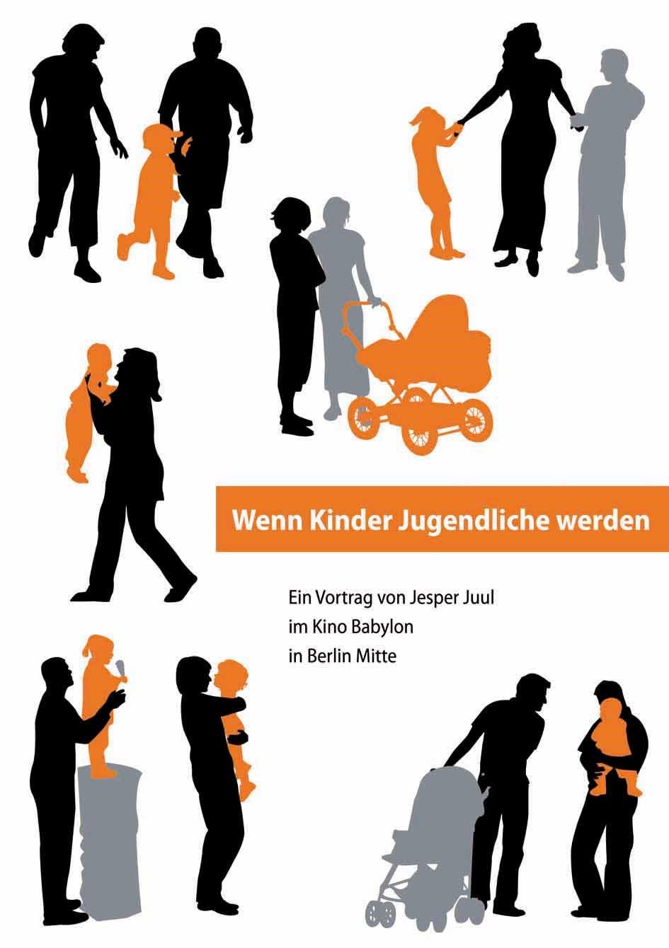 Wenn Kinder Jugendliche werden | Juul | Originalausgabe, 2009 (Cover)
