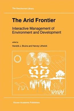 Abbildung von Bruins / Lithwick | The Arid Frontier | 1997 | Interactive Management of Envi... | 41