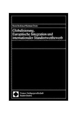 Abbildung von Globalisierung, Europäische Integration und internationaler Standortwettbewerb | 2000